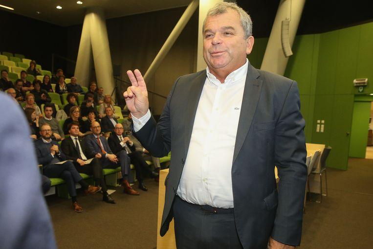 Eedaflegging burgemeester Sint-Laureins, Franki Van de Moere.