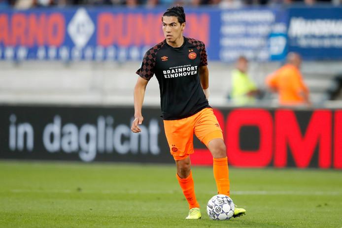 Érick Gutiérrez in actie voor PSV.