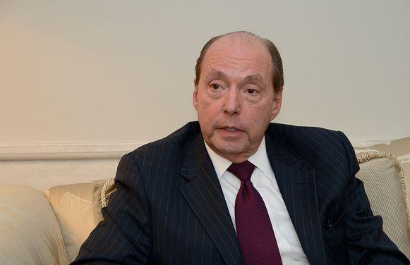 Ronald Gidwitz, de Amerikaanse ambassadeur in België.