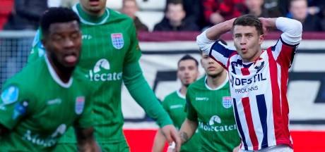 Wil Willem II winnen, dan kan het de bal het beste níet hebben