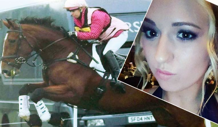 Natasha Galpin maakte een fatale val met haar paard.