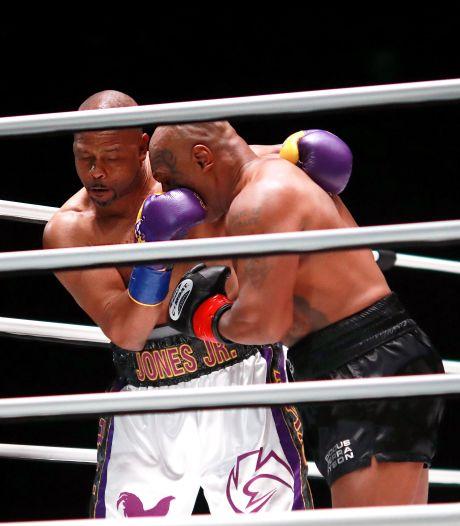 Serie | De mooiste foto's van het gevecht tussen Tyson en Jones
