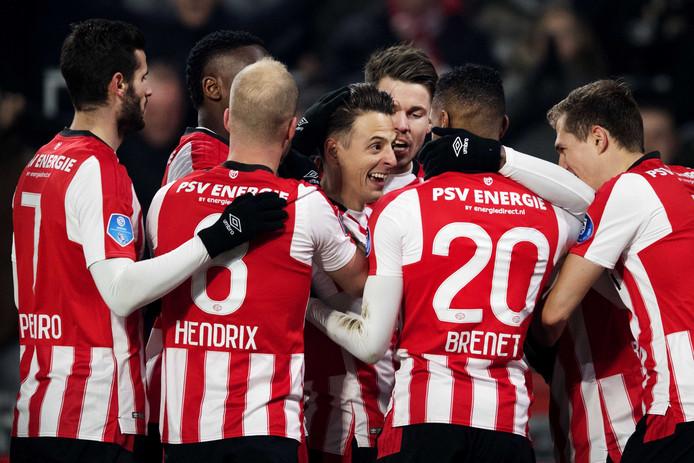 PSV bleef al 47 duels op zaterdag ongeslagen.