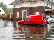 Brabant neemt schade op na avond vol regen, donder en bliksem