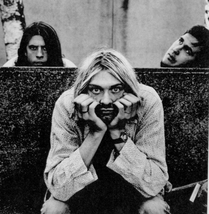 Dave Grohl, Kurt Cobain et Krist Novoselic