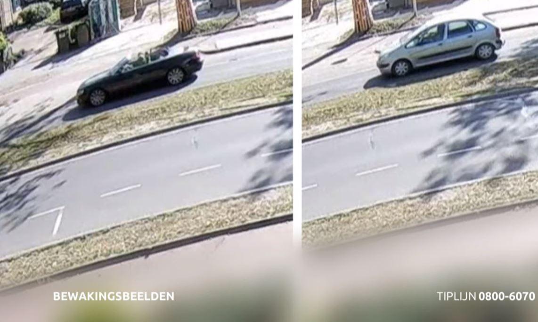 De politie is ook op zoek naar de inzittenden van een Citroên Xsara en een BMW cabrio die kort voor het ongeval over de Elzentlaan in Eindhoven reden.