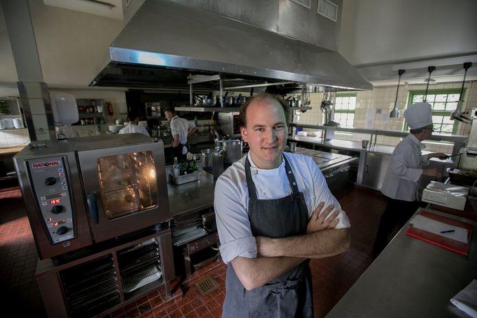 Rob van der Veeken is de nieuwe chefkok van de Karpendonkse Hoeve.