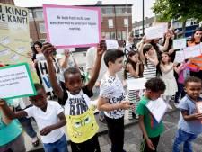 Landelijke demonstratie voor  kinderpardon in Rijen