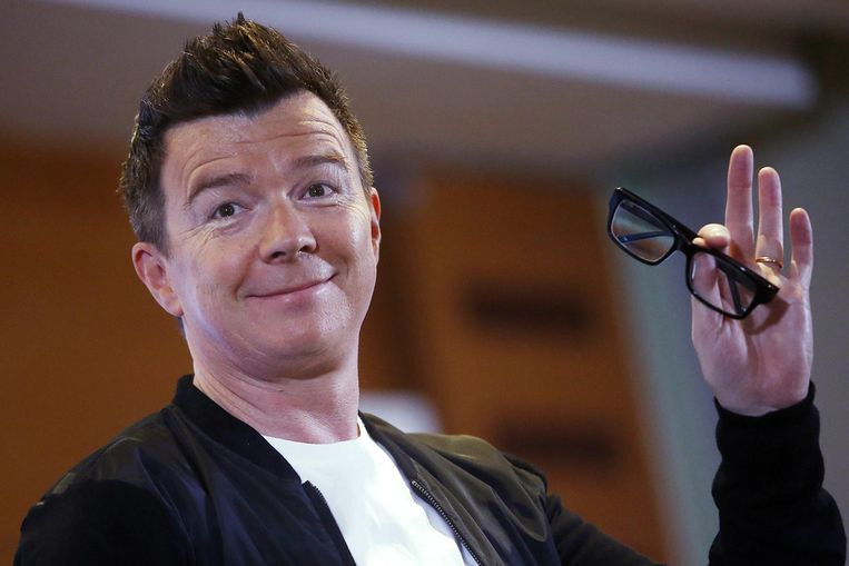 Rick Astley, begin dit jaar in Chili.