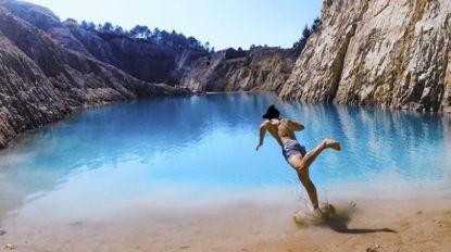 """Instagrammers zwaar ziek nadat ze poseren bij prachtig turquoise meer in Spanje: """"Het is het waard"""""""