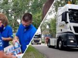 Geen Truckrun, maar vrachtwagens met 1200 ijsjes