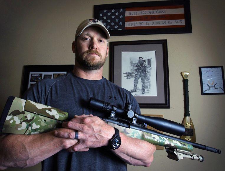 Chris Kyle, de man achter 'American Sniper'.
