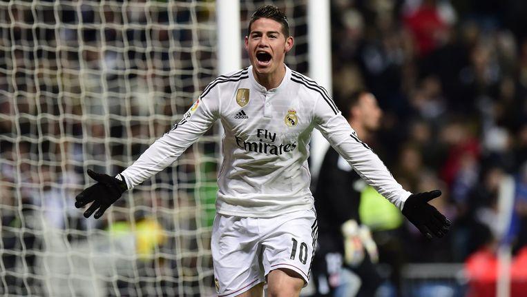 Rodriguez had gisteren tegen Sevilla nog de score geopend.