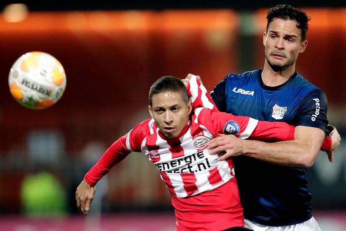 Guus Joppen speelde de laatste twee seizoenen voor NEC.