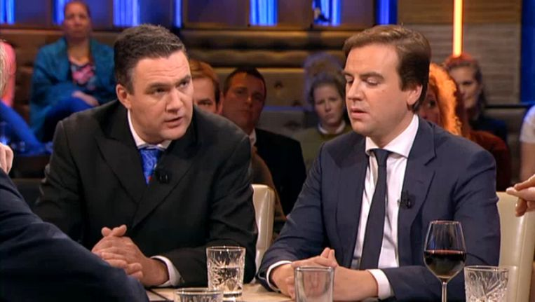 Constant Kusters (l) in Pauw. Beeld NPO