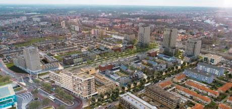 50 meter hoge toren is dé blikvanger van nieuwe wijk Hogekwartier. 'Het uitzicht is formidabel'
