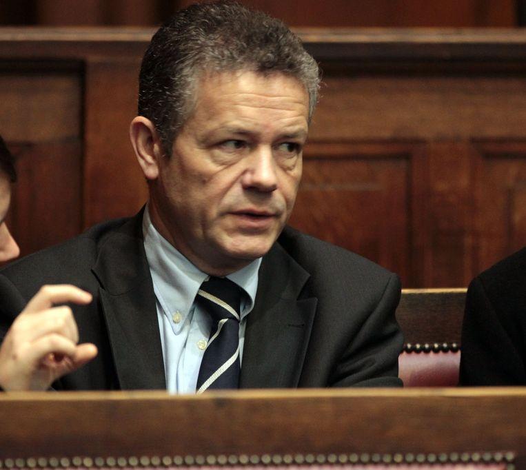 Gewezen VB-voorzitter en toenmalig verantwoordelijke uitgever Frank Vanhecke werd vrijgesproken.