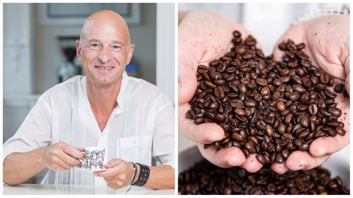 """Peter Hernou: """"Als koffiebonen er mooi uitzien en lekker ruiken, kan je er ook een lekkere kop koffie mee zetten"""""""