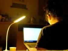 Thuiswerken: Extra lamp, nu dagen korter worden