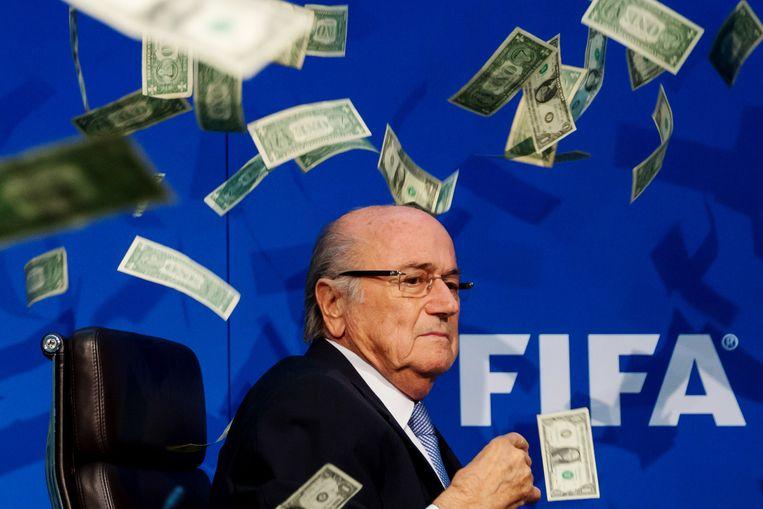 FIFA-voorzitter Sepp Blatter Beeld getty