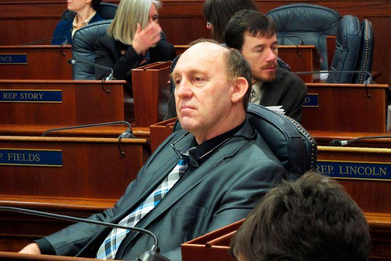 Lokaal politicus Gary Knopp (67).