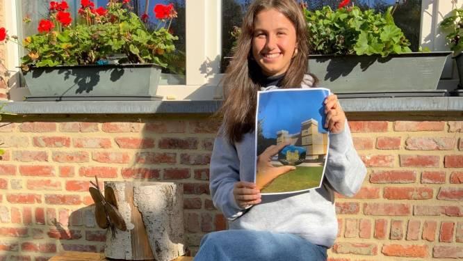 Zeventienjarige Nele wint wedstrijd '#kasteelinbeeld'