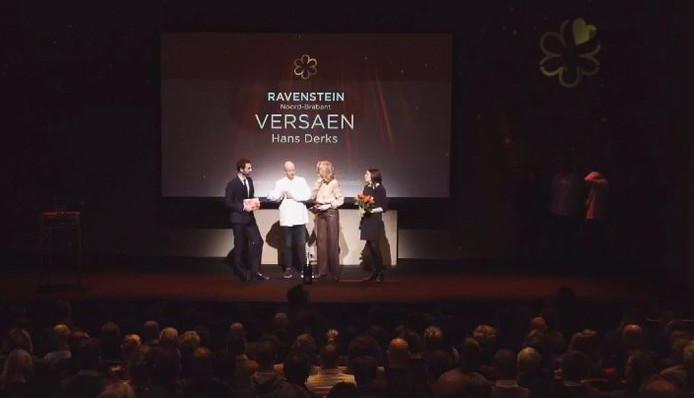 De uitreiking van de Michelin-ster aan Versaen.