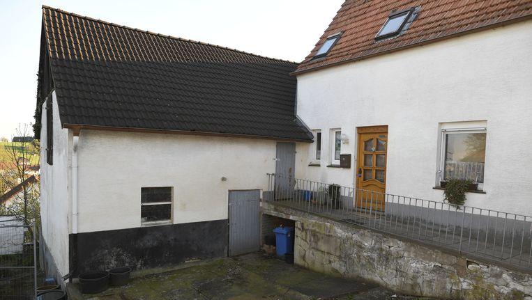 De voormalige boerderij in het dorp Bosseborn in Höxter. Beeld getty