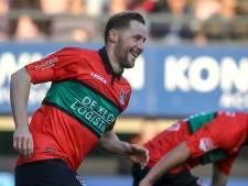 NEC mist aanvoerder Van Eijden tegen Telstar
