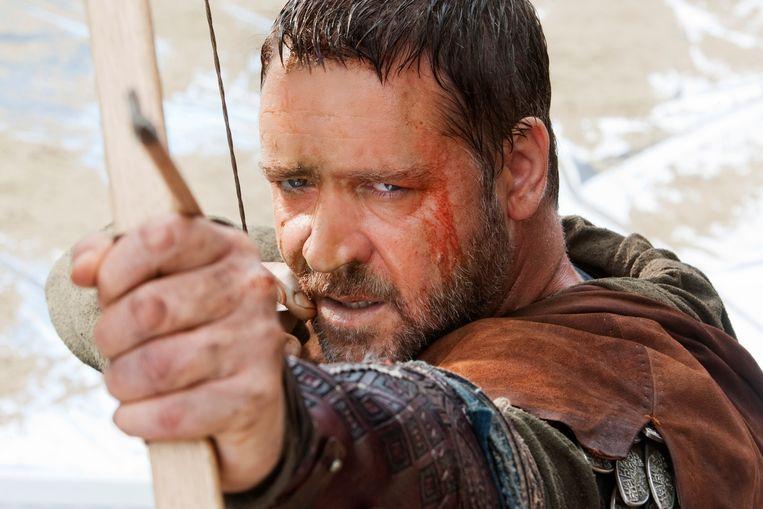 Russel Crowe in Robin Hood. Beeld