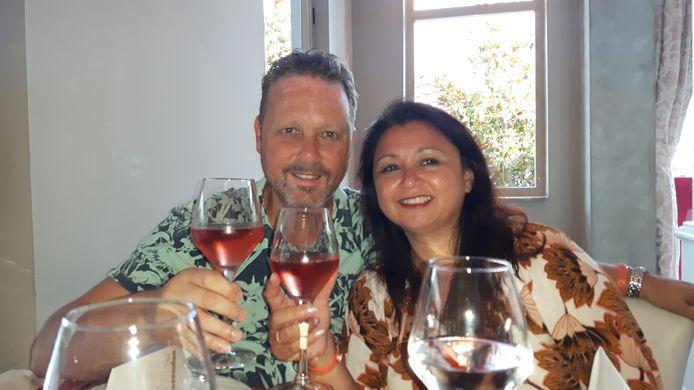 Gerben Jansen en zijn vrouw Regina Jansen.