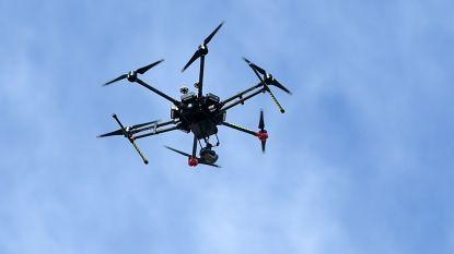 Burgemeester Heeren brengt overstromingsgebied in kaart met drones