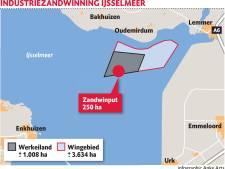 Waarom laat zandwinning in IJsselmeer Flevoland koud?