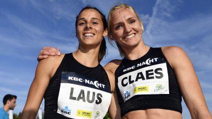 Belgian Cheetahs Hanne Claes en Camille Laus lopen eind deze maand rond hun kot voor het goede doel