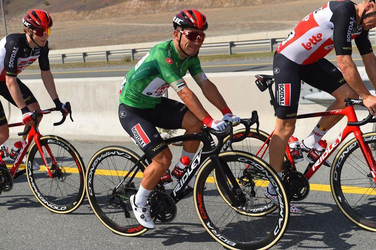 Caleb Ewan op een Ridley-fiets.