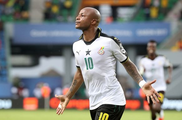 André Ayew.