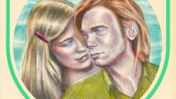 """""""Ik herinner me goed hoe fluwelig ze kuste. Het was mijn allereerste tongzoen"""""""