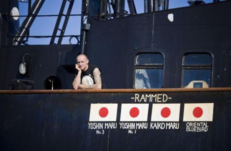 Pete Bethune, schipper van de Ady Gil (archieffoto 28-01-2010). ANP Beeld