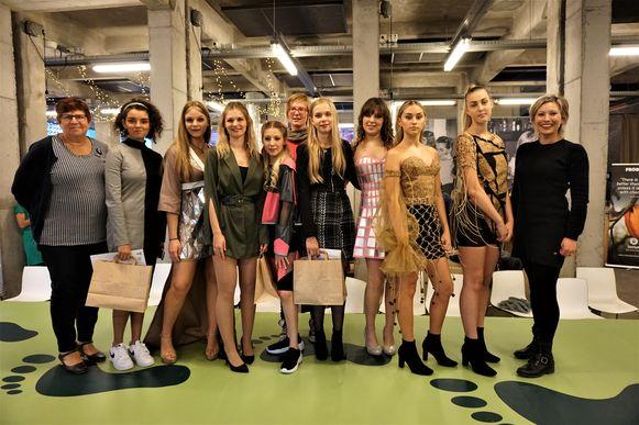De modeafdeling van het Ensorinstituut heeft deelgenomen aan de ontwerpwedstrijd M-Fair '19 in Mechelen