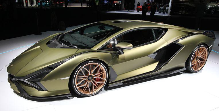 Lamborghini Sian FKP 37 hybride.