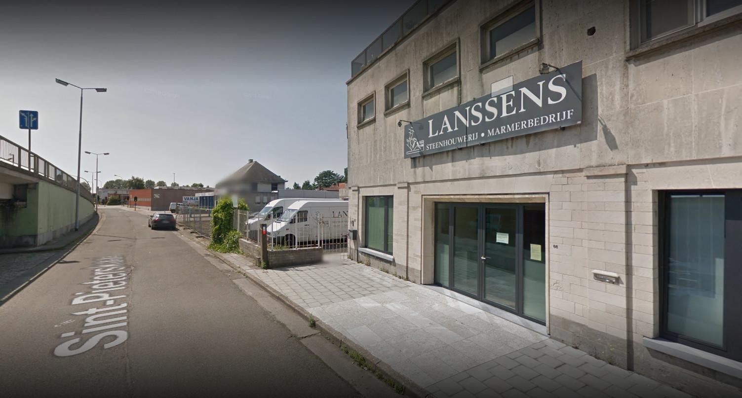 Het gaat om de zone nabij de site-Lanssens.
