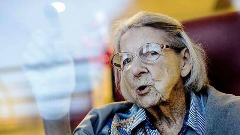 Alwine Paffen werd 103. Beeld Trouw, Merlin Daleman