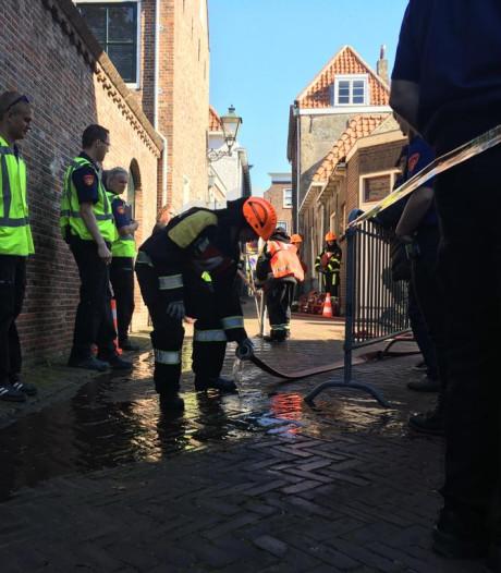 Leden jeugdbrandweer uit heel het land strijden in Zierikzee