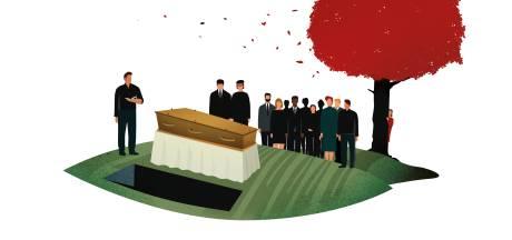 Een ex op de begrafenis, doen of niet? Expert geeft antwoord