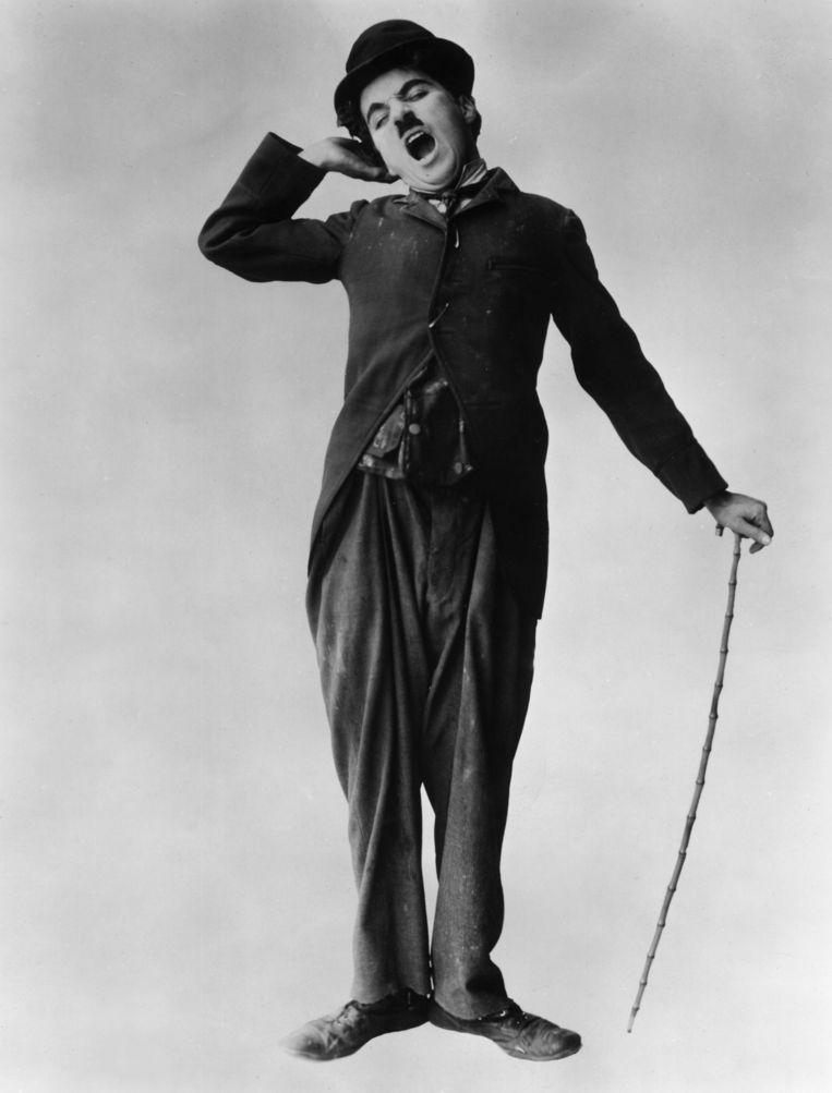 Charlie Chaplin. Beeld Getty