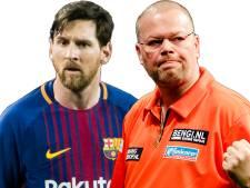 Van Barneveld naar Barcelona voor ontmoeting met Messi