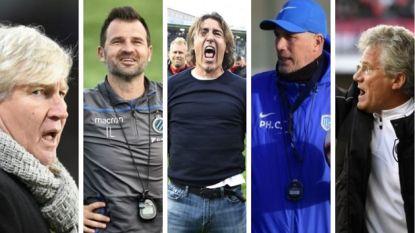 POLL. Dit vijftal is kandidaat voor trofee van Trainer van het Jaar. Wie is jouw topfavoriet?