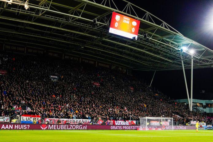De Bunnikside tijdens FC Utrecht-PSV.