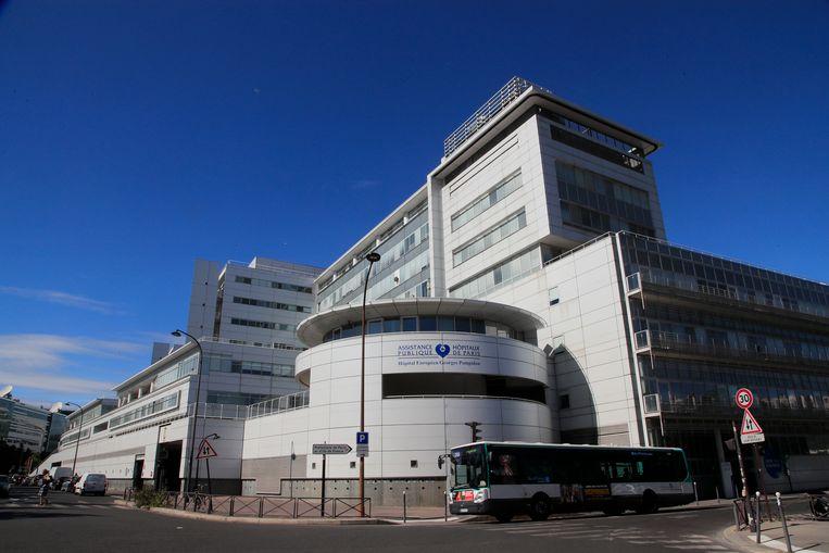 Het ziekenhuis van Georges-Pompidou in Parijs, waar Schumacher een stamceltherapie zou hebben ondergaan.