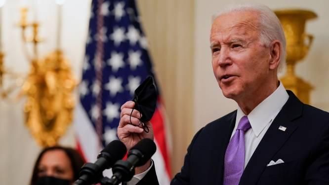 """Biden stelt plan voor om coronacrisis aan te pakken: """"Erfenis van Trump nog veel erger dan gedacht"""""""